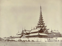 The Palace. The centre of the universe, Mandalay